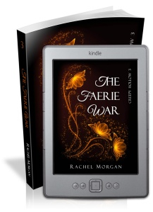 The Faerie War book cover